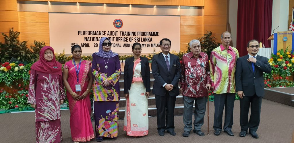 Closing Ceremony Of The Performance Audit Training